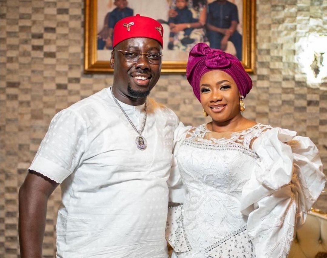 Obi Cubana and wife