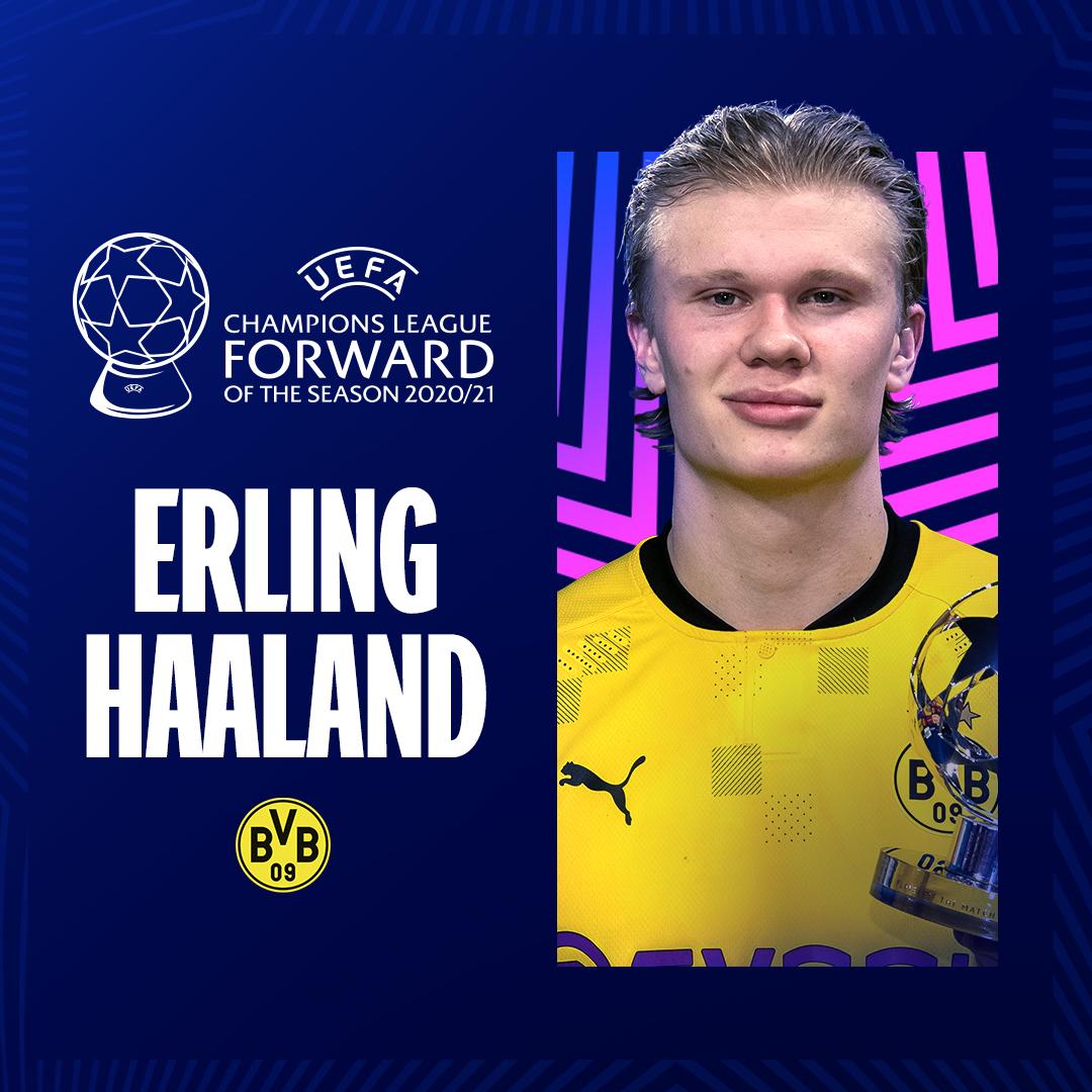 Erling Haaland, Forward of the season