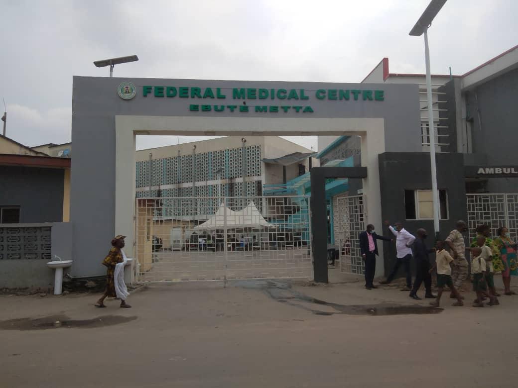 Entrance of the Federal Medical Centre, Ebute-Metta, Lagos
