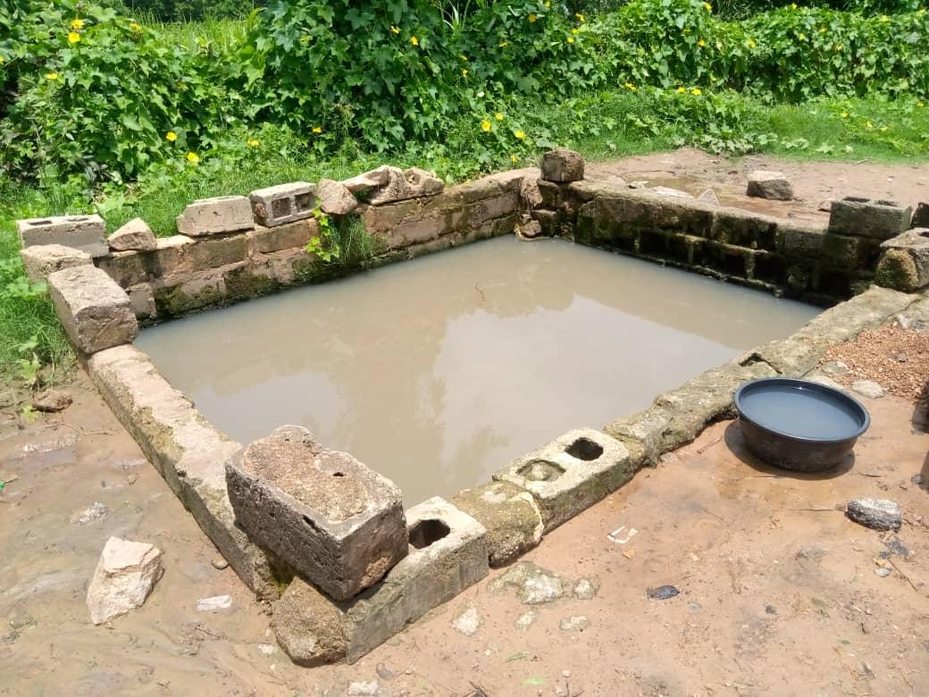 Open well at Gimi community in Safana LGA Area.