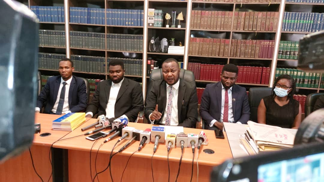 Pelumi Olajengbesi lead counsel to detained aides of Yoruba nation agitator, Sunday Igboho gives the SSS a 48-hour ultimatum for the release of his clients.