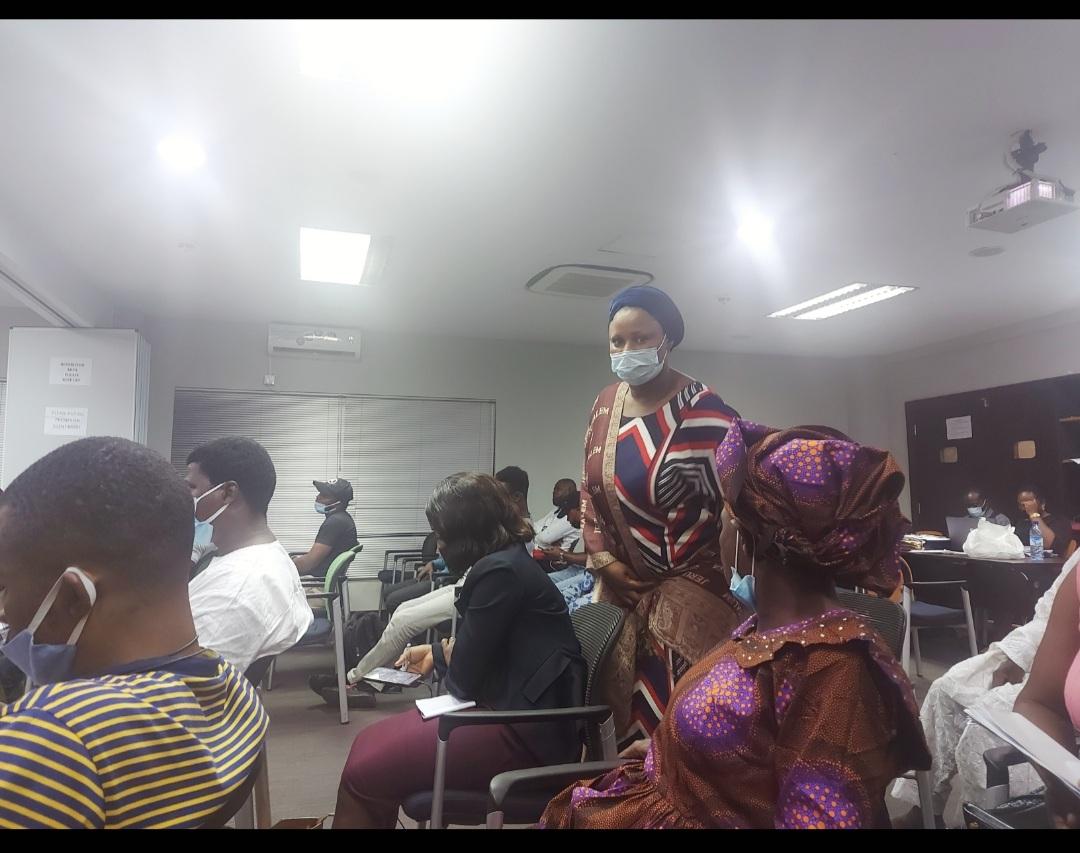 Seun Bamgbose, elder sister of the deceased Ayodele Solaja