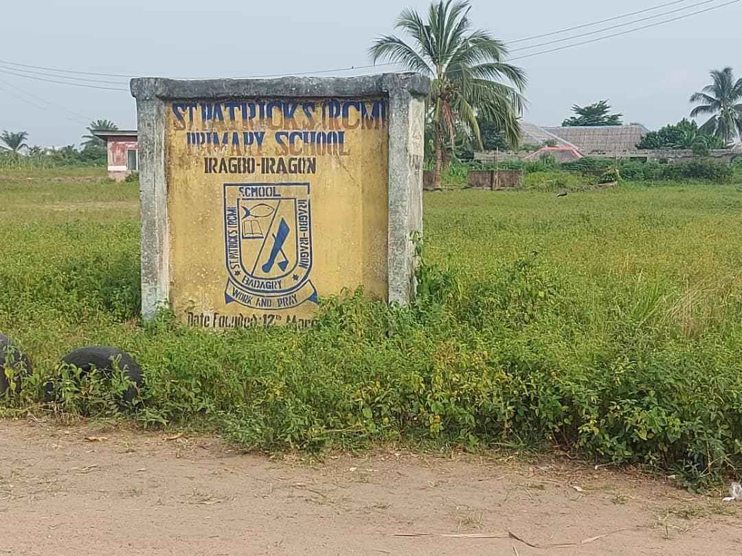 St Patrick primary school, Iragbo/Iragon, Badagry