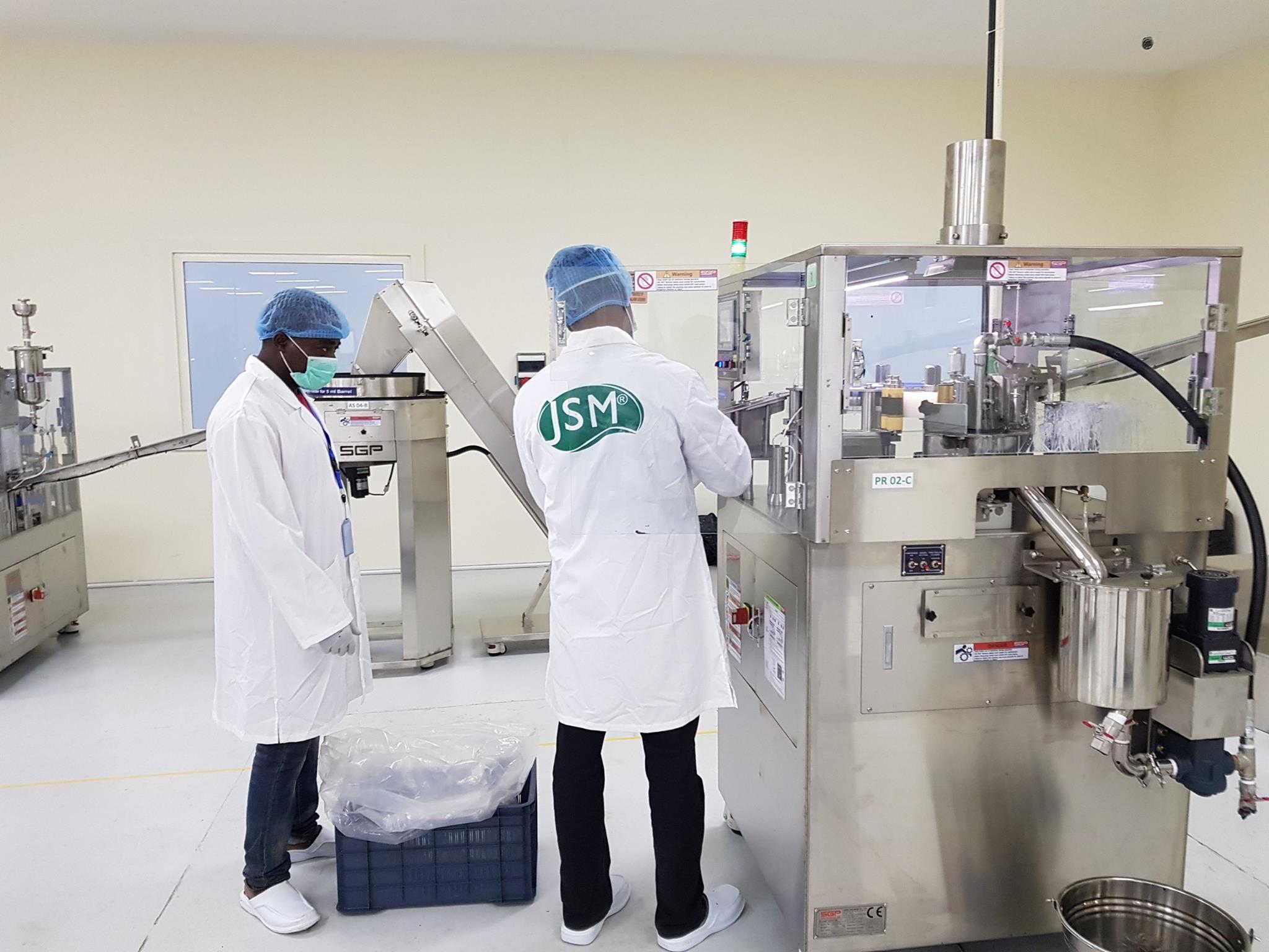 Jubilee Syringe production plant