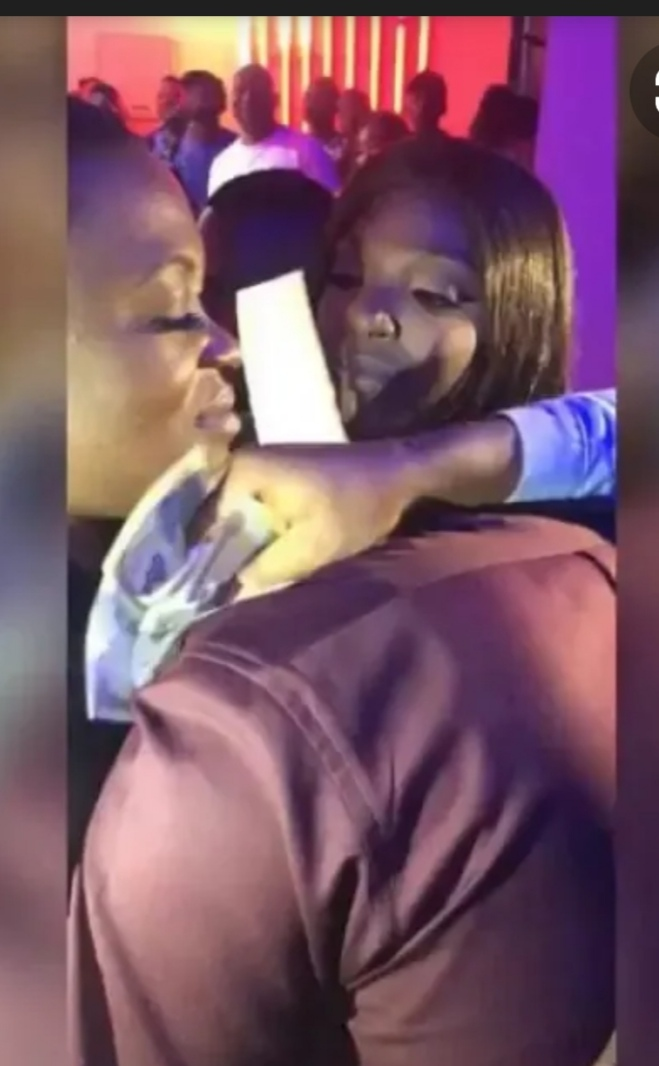 Pero & Annie's reconciliation which took place at Crescendo Lounge in Ikeja, Lagos, in November 2018