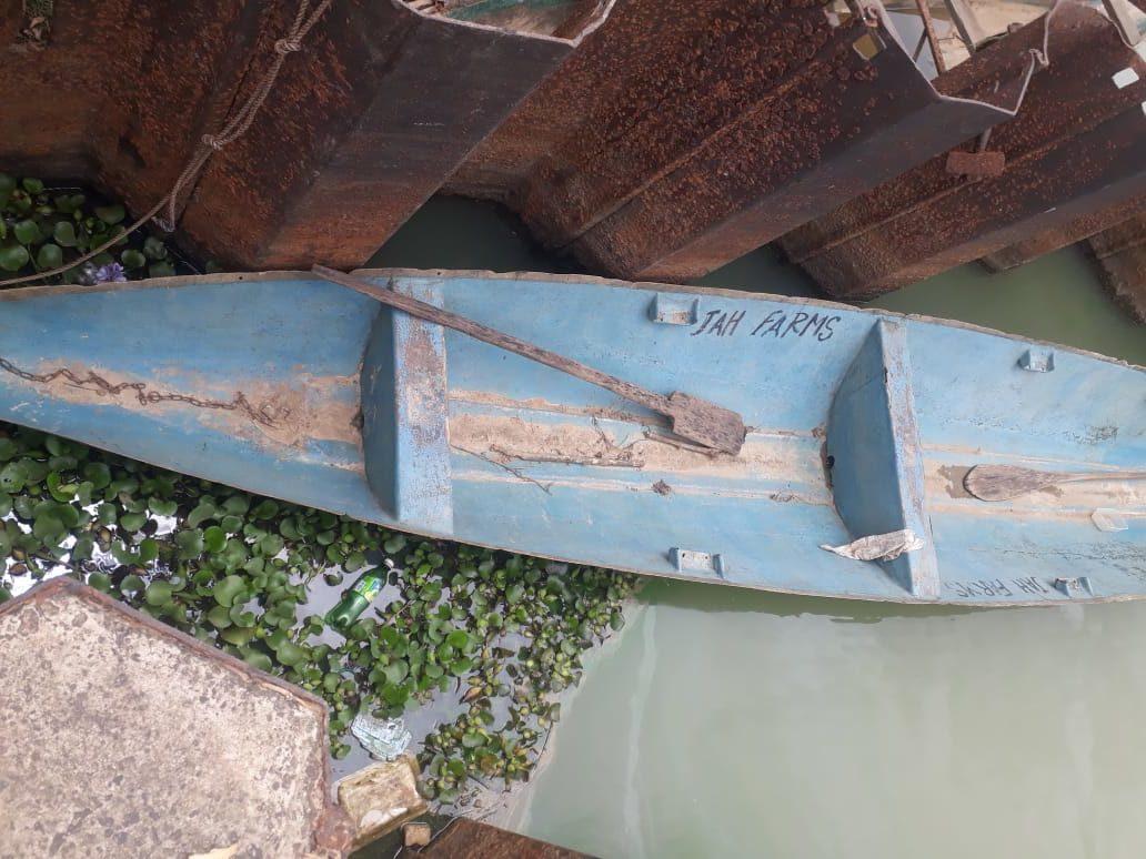 Picture of Mr Hamo's boat