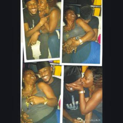 Kissing photo of Pero & 2baba that was leaked in 2015.