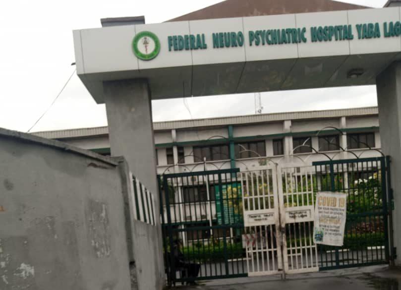 Yaba Psychiatric hospital gate