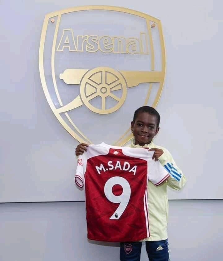 Munnir Muhammed Sada for Arsenal