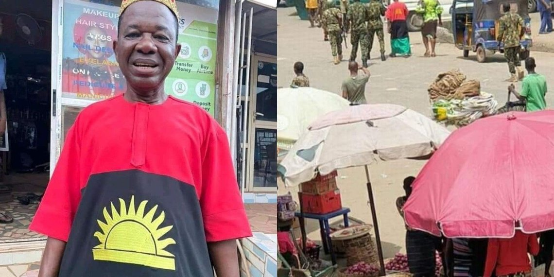 Popular actor, Chiwetalu Agu, arrested for allegedly recruiting for IPOB