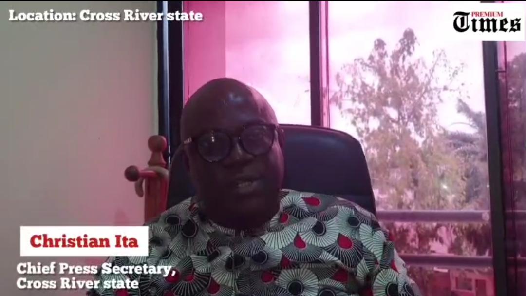 Christian Ita, Chief Press Secretary, Cross River State