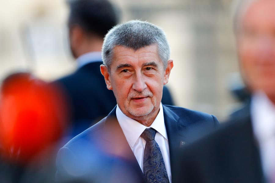 Czech Prime Minister Andrej Babis. Image: Stefan Wermuth/Bloomberg