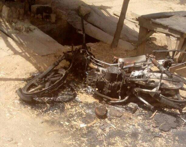Scenes from the recent attack in Daudawa