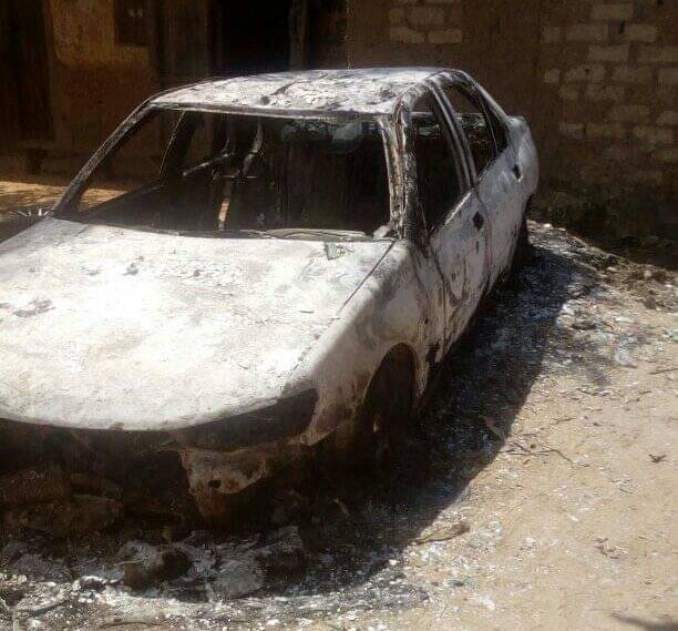 Scenes of bandits' attacks in Katsina