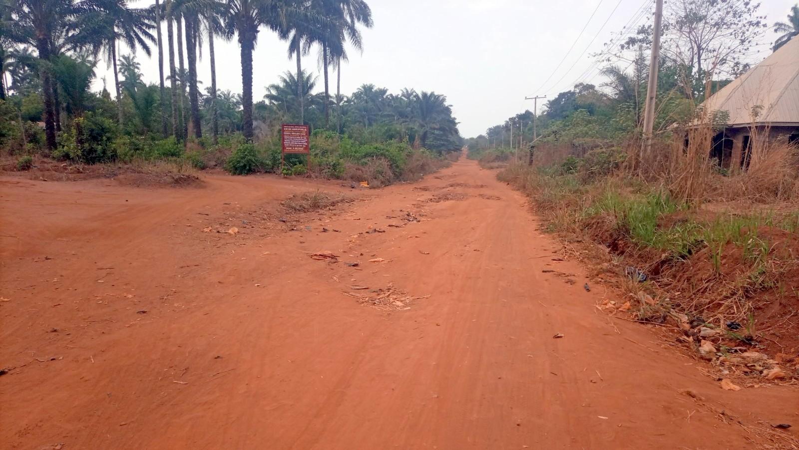 Current state of Ogrute- Mkpamute-Amachalla-Igogoro-Okpo-Amaja road
