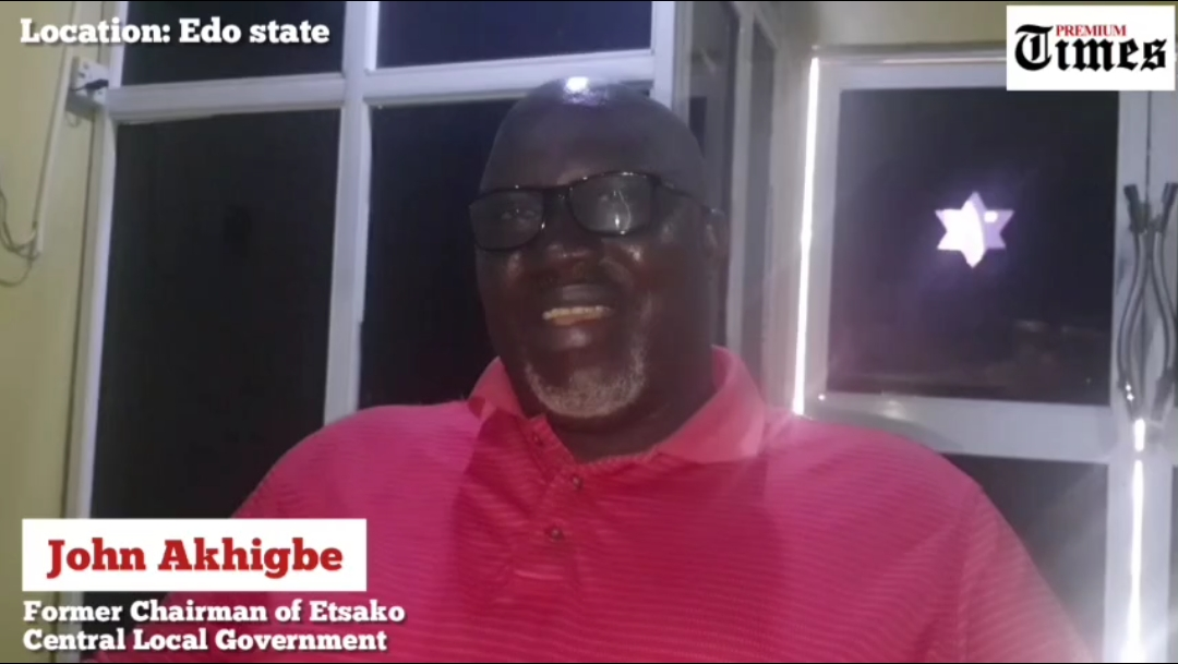 John Akhigbe, Former Chairman of Etsako, Central Local Government