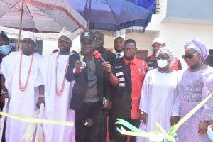 The newly inaugurated Bayview Estate, Ikate-Elegushi in Lekki Lagos on Wednesday
