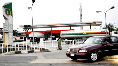 NNPC Mega station to illustrate the story.