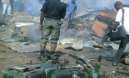 FILE PHOTO: Suicide bombing is becoming rampant in Nigeria