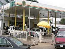 FILE PHOTO: NNPC fuel station used to illustrate the story