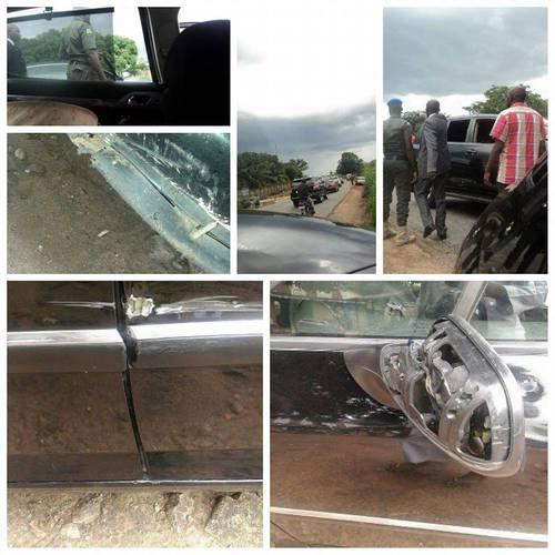 Ms. Iorvihi's damaged car
