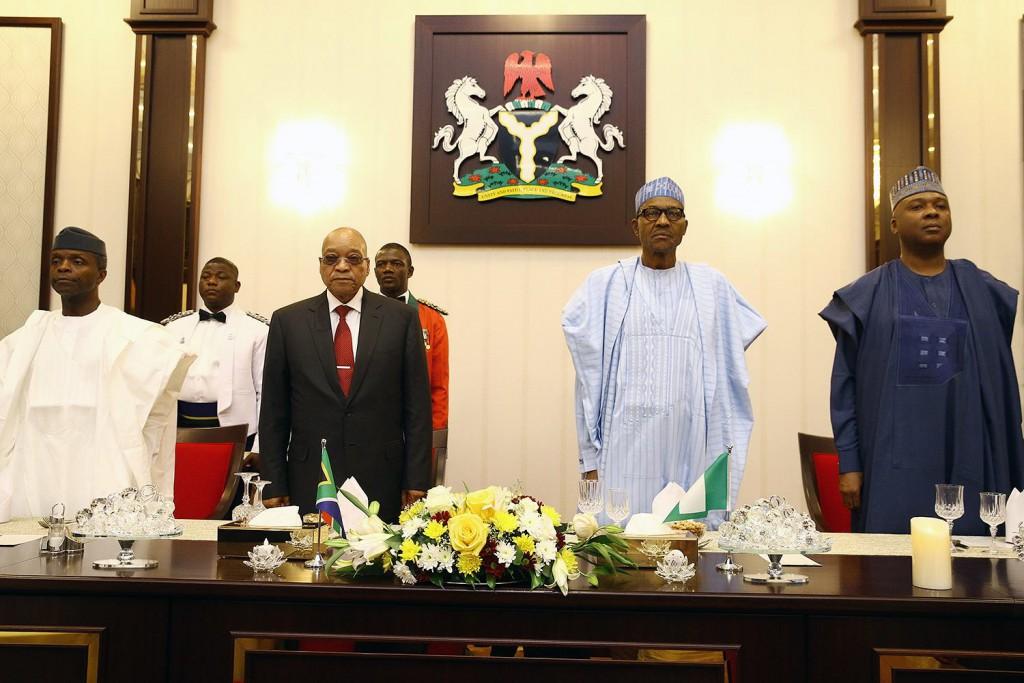 Jacob Zuma in Nigeria
