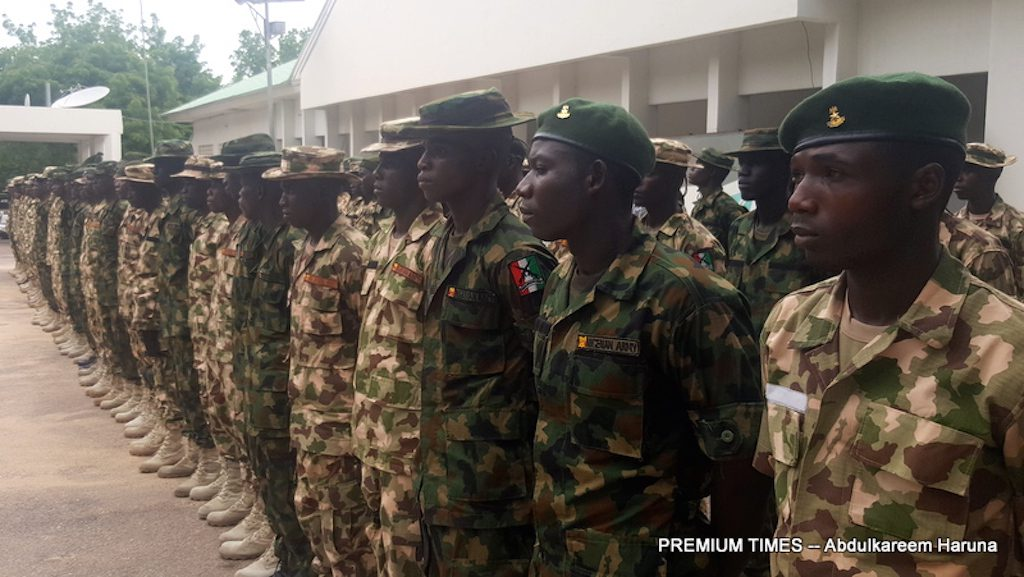 Recruited Former Civilian JTF Members