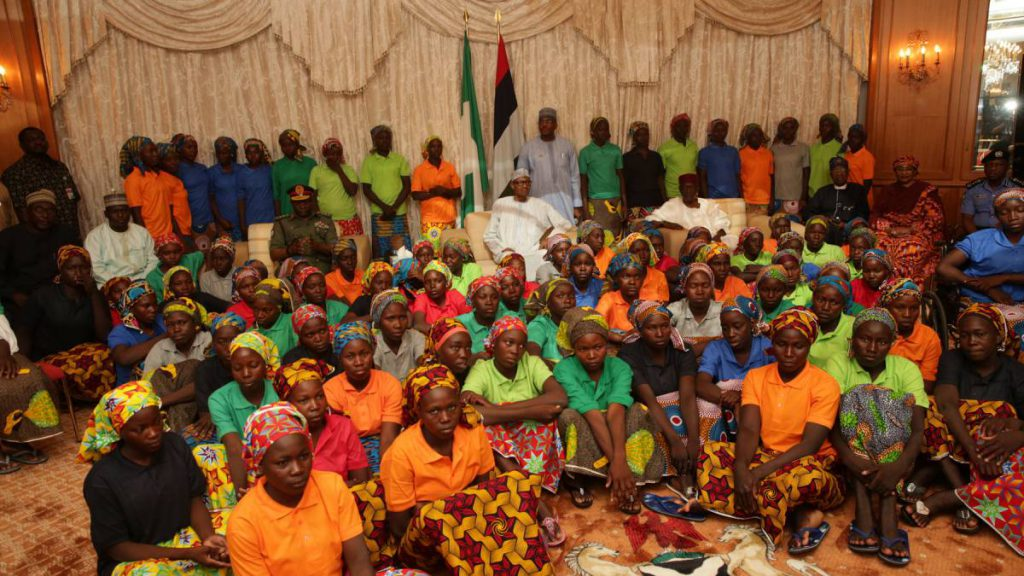 Rescued Chibok Girls
