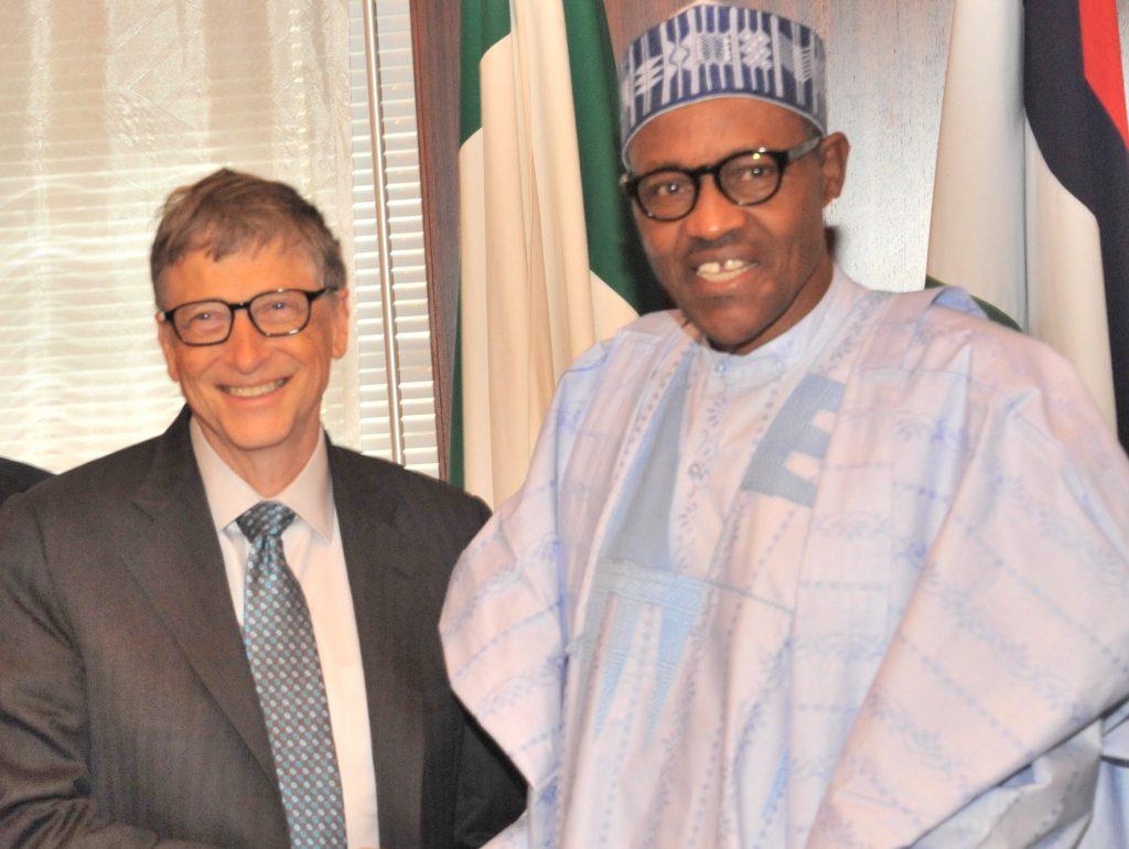 President Buhari and Bill Gates