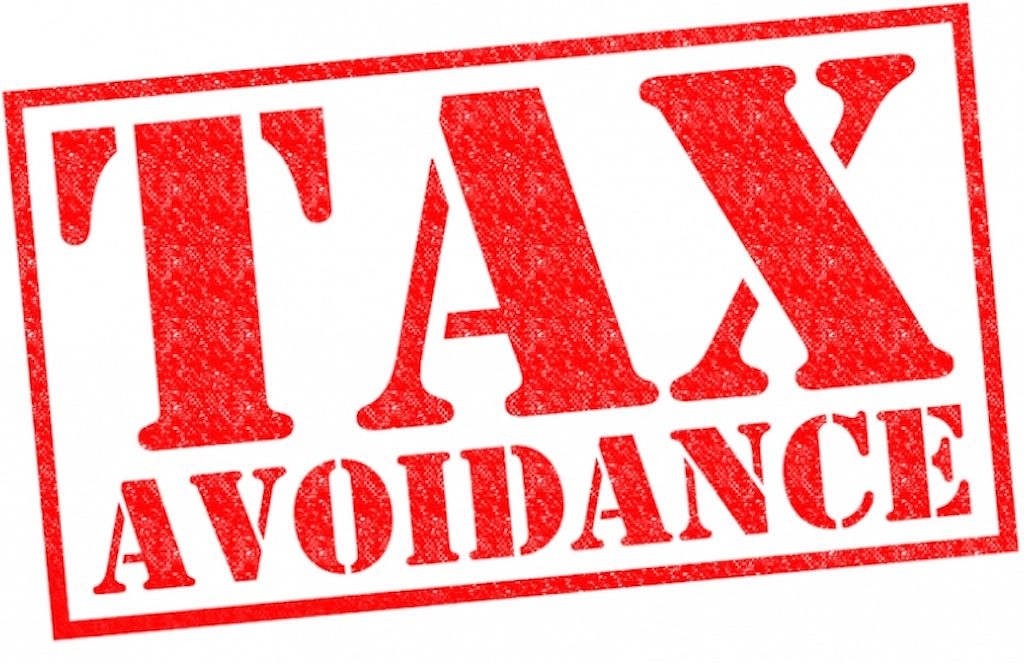 No To Tax Avoidance