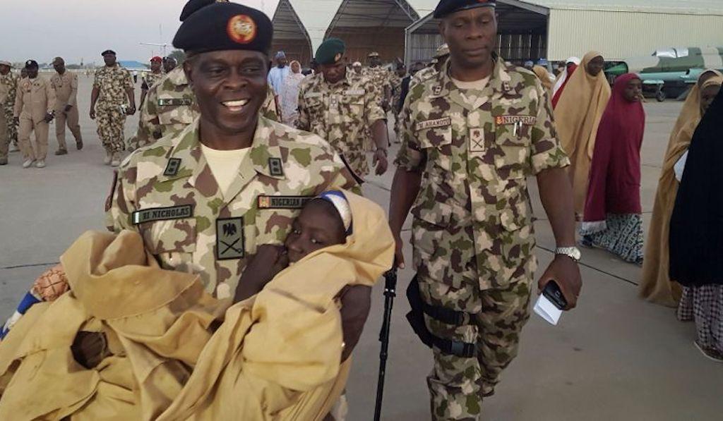 Nigerian president meets released Dapchi schoolgirls