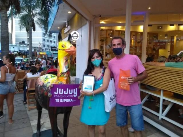 Importante promoción del destino Jujuy, en Carlos Paz, durante el fin de semana
