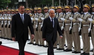 shimon peres azerbaijan