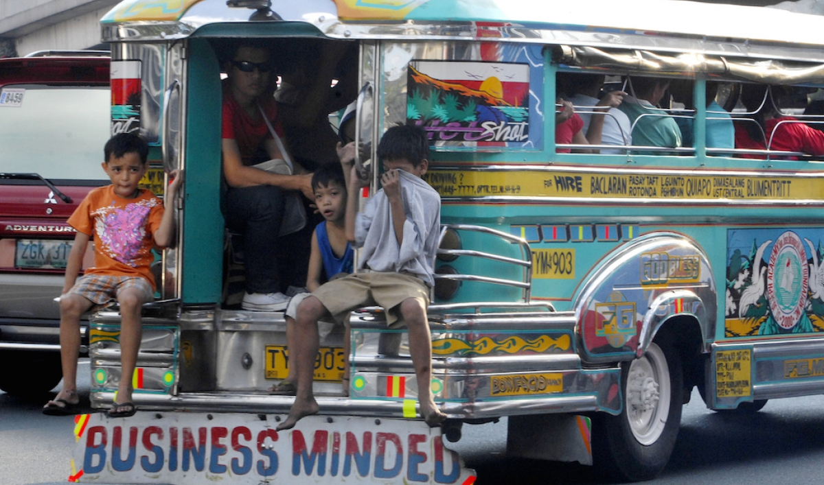The Philippines built a trickedout popemobile jeepney