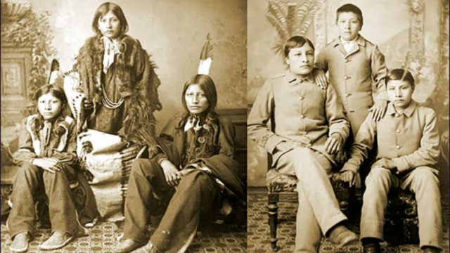 We've been there': Native Americans remember their own family separations | The World from PRX