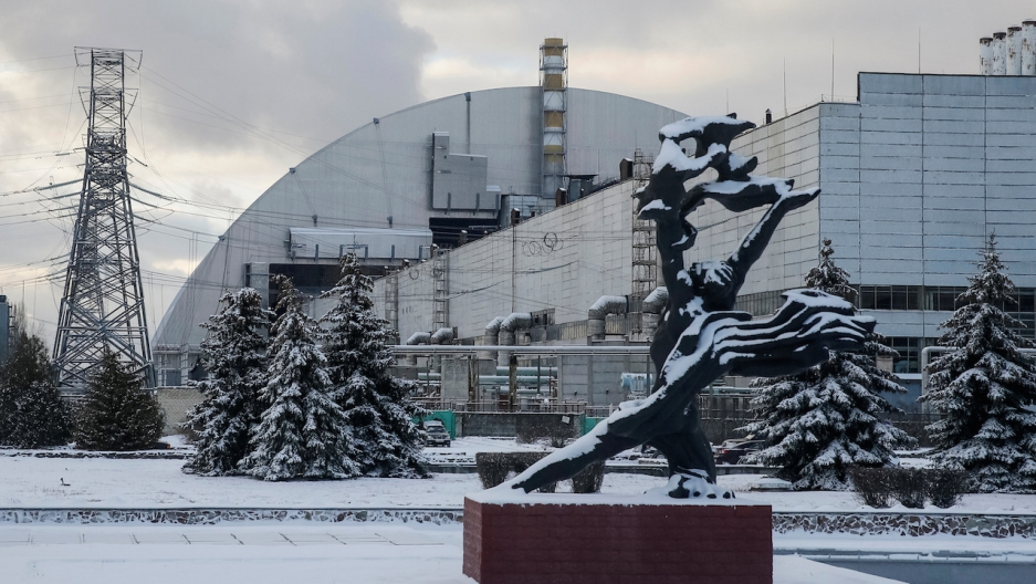 Ukraine moves giant new safety dome over Chernobyl