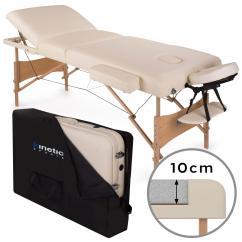 Sofa Portable Table Green Velvet Couch Folding Lightweight Massage Beauty Salon