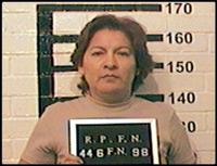 Isabel Miranda de Wallace en una fotografía de 1998, cuando fue indiciada en una causa penal como probable responsable de los delitos de resistencia de particulares y homicidio en grado de tentativa. Foto: Especial