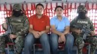 El traslado del presunto hijo de El Chapo al D.F. Foto: Semar