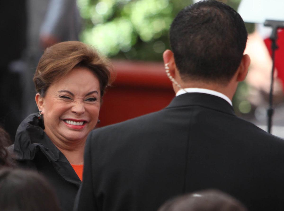 La extitular del SNTE, Elba Esther Gordillo. Foto: Benjamin Flores