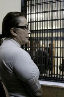 Elba Esther en prisión. Foto: Reclusorios DF