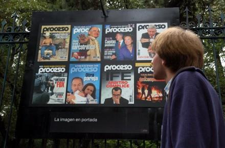 Revista Proceso. Foto: Octavio Gómez.