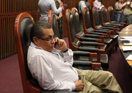El presidente del Congreso de Guerrero, Bernardo Ortega Jiménez. Foto: José Luis de la Cruz