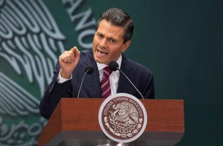 El titular del Ejecutivo, Enrique Peña Nieto. Foto: AP