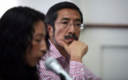 Edgar Cortez Morales, uno de los postulados a ocupar el cargo por el IMDHD. Foto: Germán Canseco