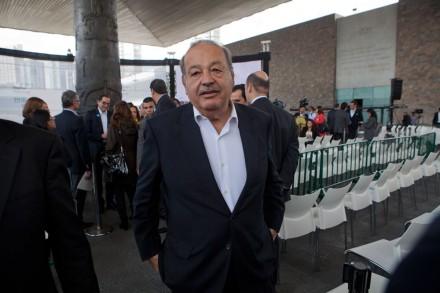 Carlos Slim, empresario. Foto: Miguel Dimayuga