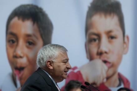 Emilio Chuayffet, titular de la SEP. Foto: Octavio Gómez