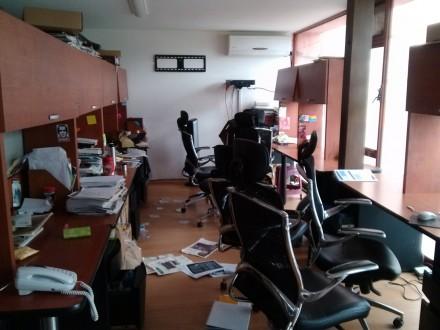 El saqueo a las oficinas de Contralínea. Foto: Contralínea