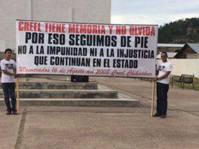 El reclamo de justicia persiste. Foto: Especial.