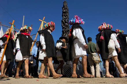 Indígenas tzotziles en Chiapas. Foto: Susana Gil